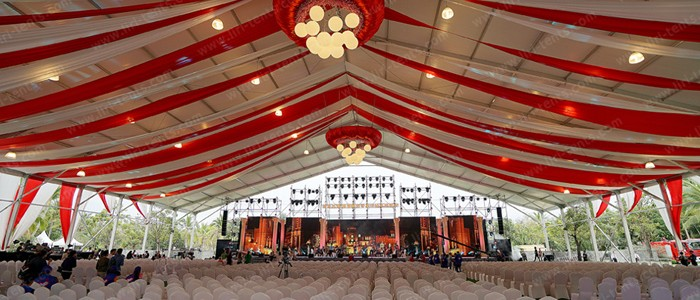 Economical 15*40m Marquee Canopy For 500 People Wedding
