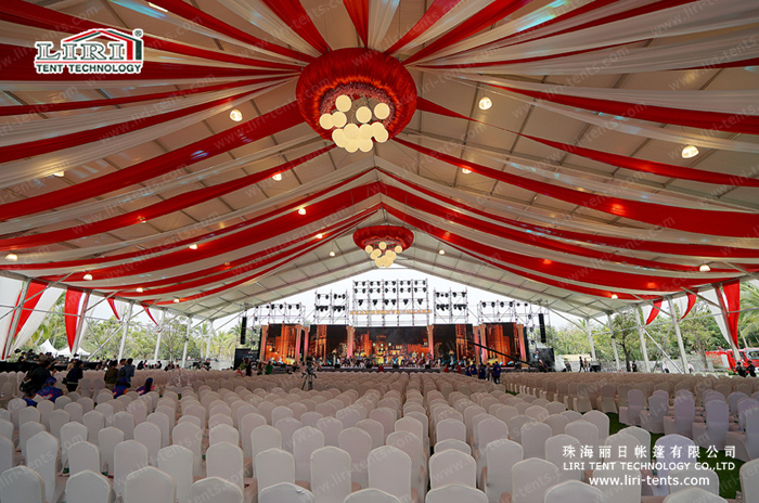 50n wide big marquee tent from Liri Tent