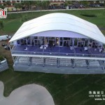 Double Deck Golf Event Tent