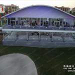 Hot Sale Arch Shape Two Story Tent from Liri Tent Manufacturer