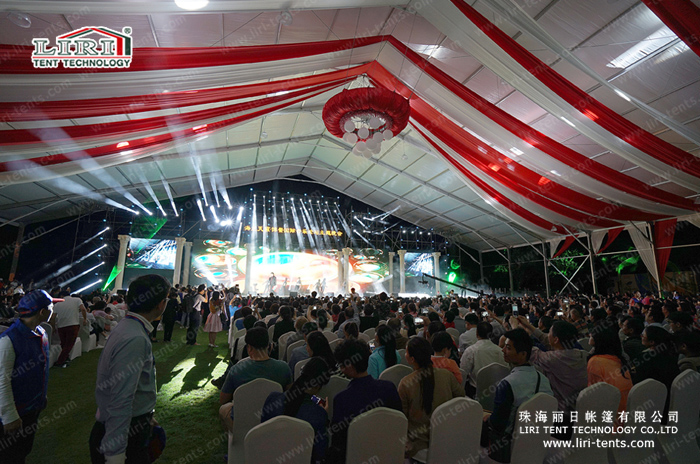 Liri Tent for Boao International Music Forum Party (20)
