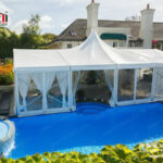Tent Rental Luxury High Peak Tent for Weddings from Liri Tent