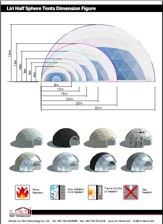 half sphere tent for outdoor event (19)