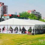 Hot Sale 20m x 30m Big Aluminum Frame White Marquee Tent for Wedding Events