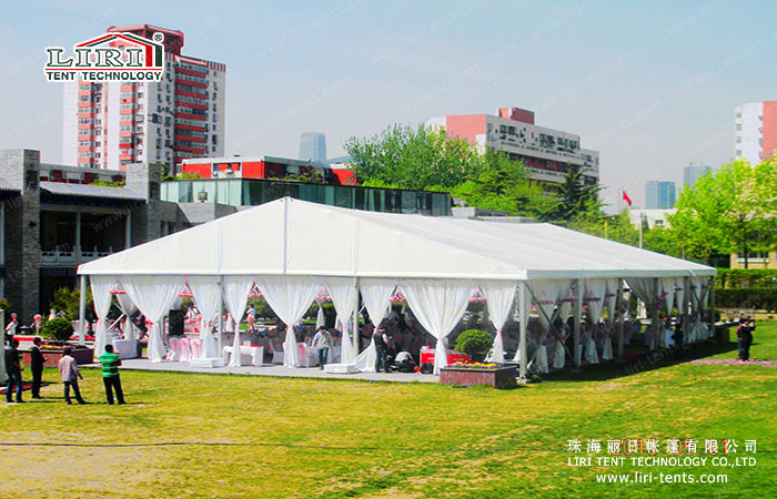 Outdoor 1000 People Party Marquee